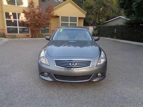 2012 Infiniti G37 Sedan for sale at Hanin Motor in San Jose CA