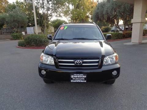 2007 Toyota Highlander for sale in San Jose, CA