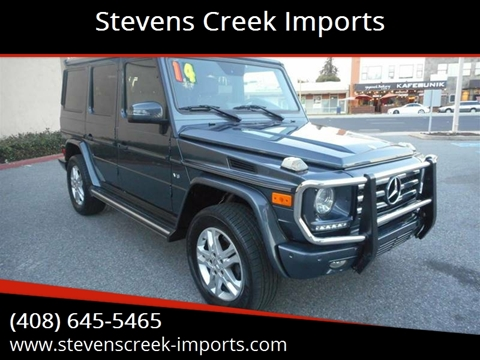 2014 Mercedes-Benz G-Class for sale at Stevens Creek Imports in San Jose CA