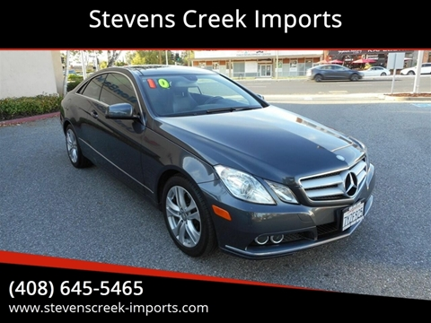 Mercedes Stevens Creek >> Mercedes Benz E Class For Sale In San Jose Ca Stevens Creek Imports