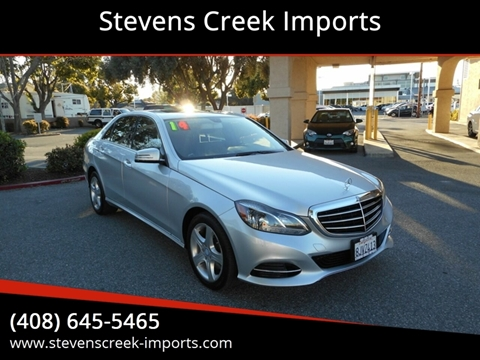 2014 Mercedes-Benz E-Class for sale at Stevens Creek Imports in San Jose CA