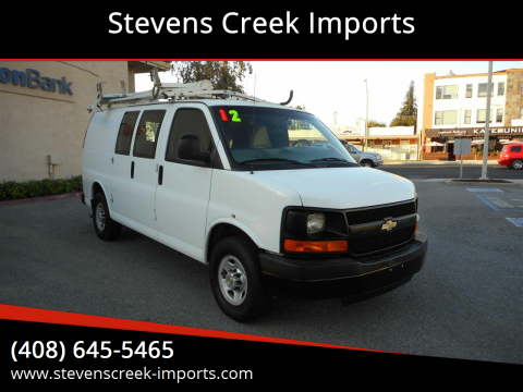 2012 Chevrolet Express Cargo for sale at Stevens Creek Imports in San Jose CA