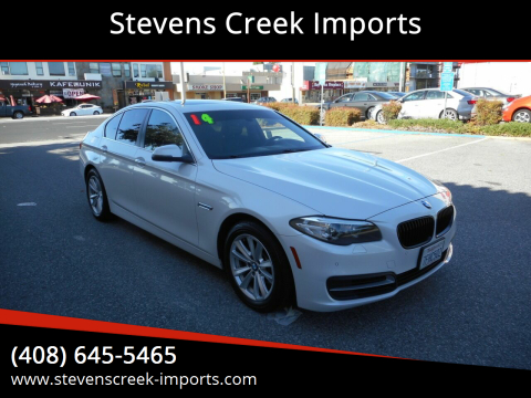 2014 BMW 5 Series for sale at Stevens Creek Imports in San Jose CA