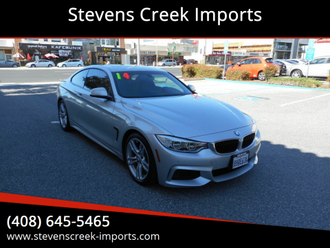 2014 BMW 4 Series for sale at Stevens Creek Imports in San Jose CA