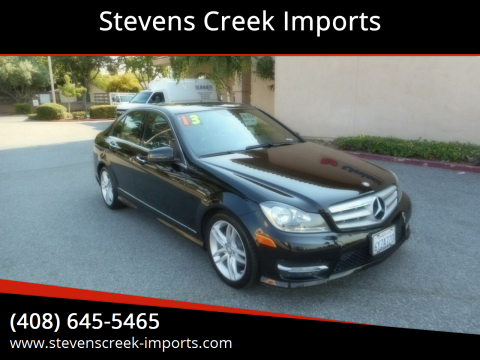 2013 Mercedes-Benz C-Class for sale at Stevens Creek Imports in San Jose CA