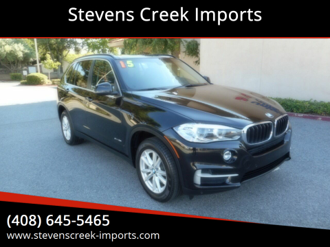 2015 BMW X5 for sale at Stevens Creek Imports in San Jose CA