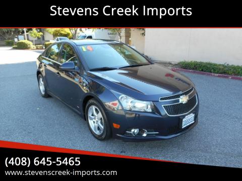 2014 Chevrolet Cruze for sale at Stevens Creek Imports in San Jose CA
