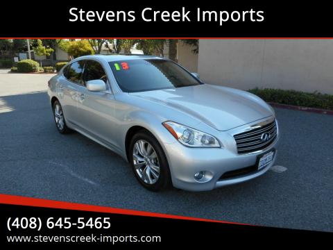 2013 Infiniti M37 for sale at Stevens Creek Imports in San Jose CA