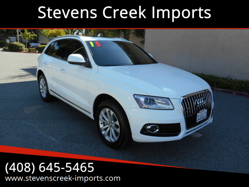 2015 Audi Q5 for sale at Stevens Creek Imports in San Jose CA