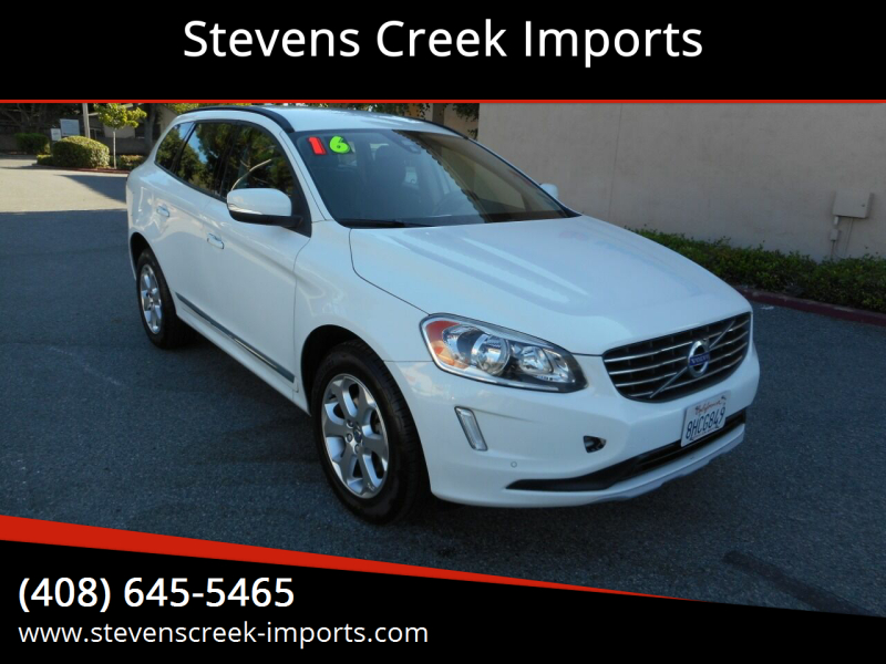 2016 Volvo XC60 for sale at Stevens Creek Imports in San Jose CA