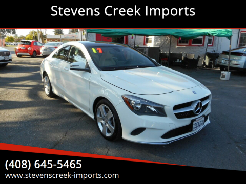 2017 Mercedes-Benz CLA for sale at Stevens Creek Imports in San Jose CA
