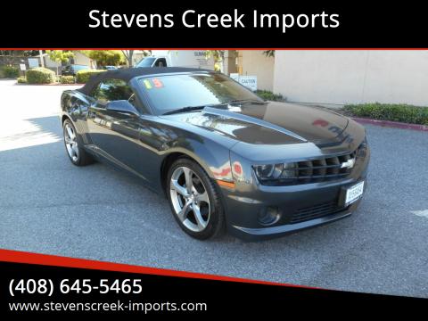 2013 Chevrolet Camaro for sale at Stevens Creek Imports in San Jose CA