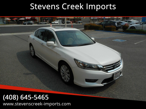2015 Honda Accord for sale at Stevens Creek Imports in San Jose CA