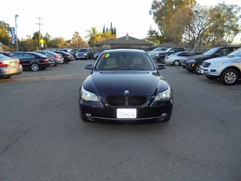 2010 BMW 5 Series for sale at Hanin Motor in San Jose CA