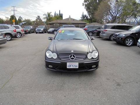 2005 Mercedes-Benz CLK for sale at Hanin Motor in San Jose CA