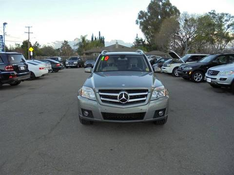 2010 Mercedes-Benz GLK for sale at Hanin Motor in San Jose CA