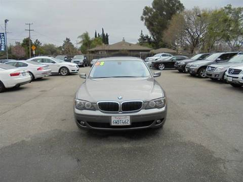 2008 BMW 7 Series for sale at Hanin Motor in San Jose CA