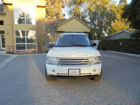2007 Land Rover Range Rover for sale at Hanin Motor in San Jose CA