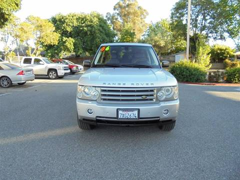 2006 Land Rover Range Rover for sale at Hanin Motor in San Jose CA