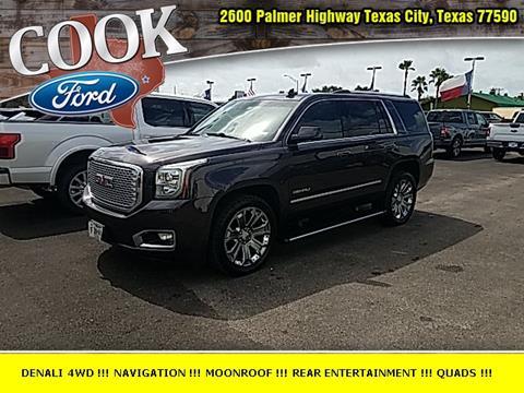 2015 GMC Yukon for sale in Texas City, TX