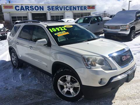 2009 GMC Acadia for sale in Carson City, NV