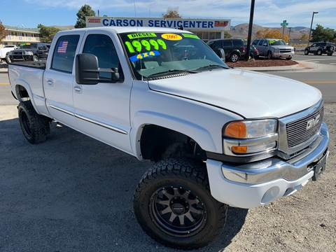 2007 GMC Sierra 2500HD Classic for sale in Carson City, NV