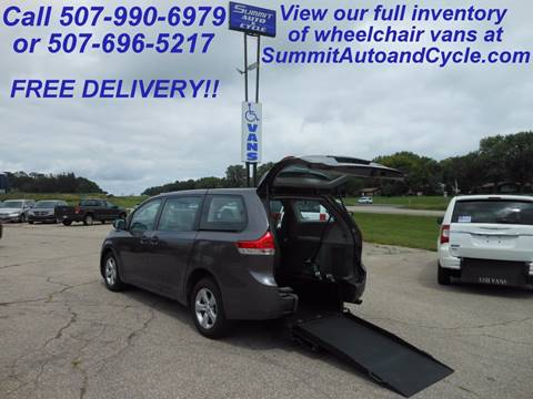 2014 Toyota Sienna for sale in Zumbrota, MN
