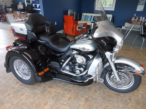 2003 Harley-Davidson Ultra Classic for sale at Summit Auto & Cycle in Zumbrota MN