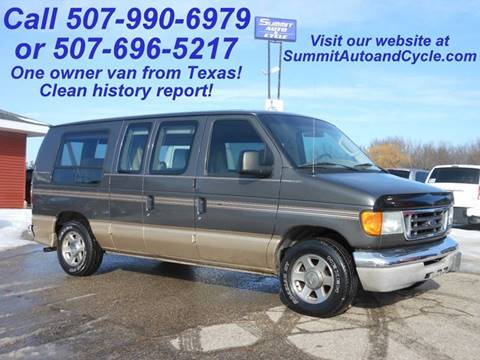 2004 Ford E 150 For Sale In Zumbrota MN
