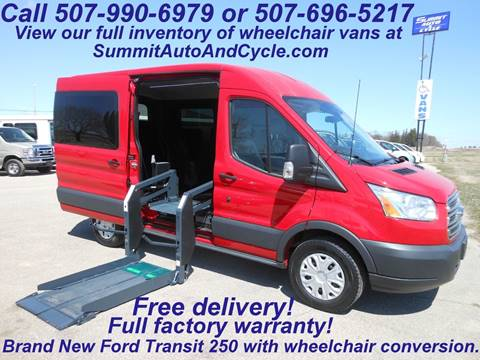 3a9ed19ef2f3a7 Ford Used Cars Handicapped Vans For Sale Zumbrota Summit Auto   Cycle