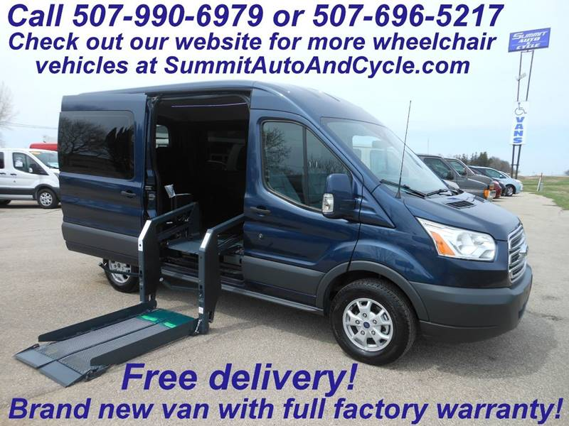 2015 ford transit cargo in zumbrota mn summit auto cycle. Black Bedroom Furniture Sets. Home Design Ideas