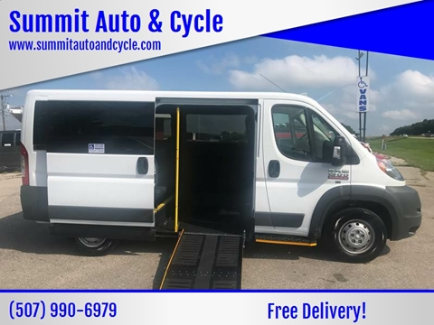 2017 RAM ProMaster Cargo for sale at Summit Auto & Cycle in Zumbrota MN