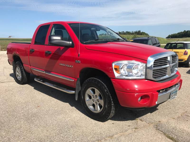2007 dodge ram pickup 1500 laramie 4dr quad cab 4wd sb in. Black Bedroom Furniture Sets. Home Design Ideas