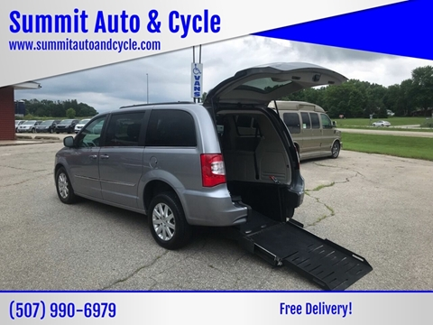 2016 Chrysler Town and Country for sale at Summit Auto & Cycle in Zumbrota MN