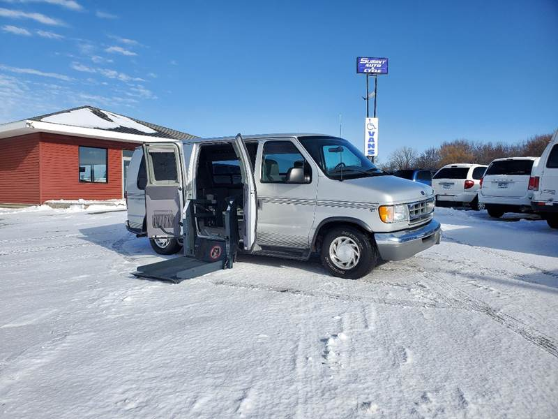 2001 Ford E-Series Cargo for sale at Summit Auto & Cycle in Zumbrota MN