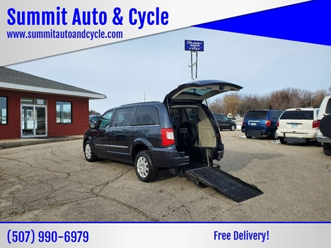 2013 Chrysler Town and Country for sale at Summit Auto & Cycle in Zumbrota MN
