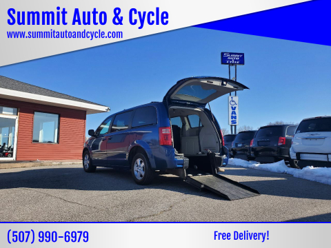 2010 Dodge Grand Caravan SXT for sale at Summit Auto & Cycle in Zumbrota MN