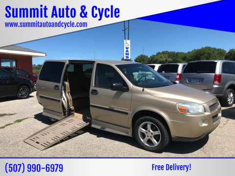 2005 Chevrolet Uplander for sale at Summit Auto & Cycle in Zumbrota MN