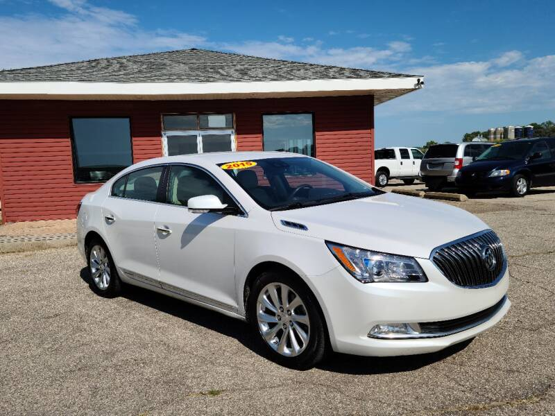 2015 Buick LaCrosse for sale at Summit Auto & Cycle in Zumbrota MN