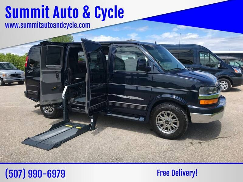 2014 Chevrolet Express Cargo for sale at Summit Auto & Cycle in Zumbrota MN