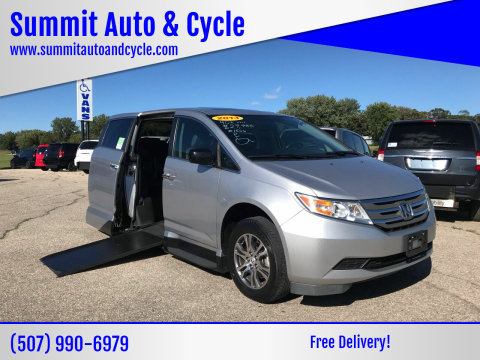 2013 Honda Odyssey for sale at Summit Auto & Cycle in Zumbrota MN