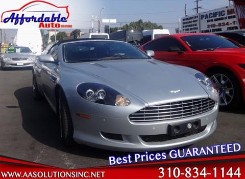2007 Aston Martin DB9 for sale in Wilmington, CA