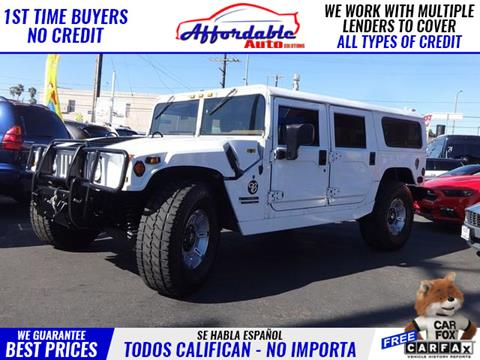 2000 AM General Hummer for sale in Wilmington, CA
