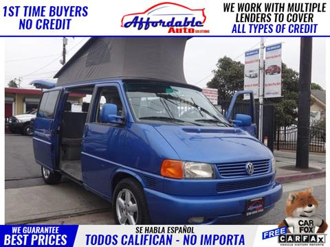 2001 Volkswagen EuroVan for sale in Wilmington, CA