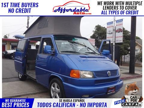 2001 Volkswagen EuroVan for sale in Wilmington, CA