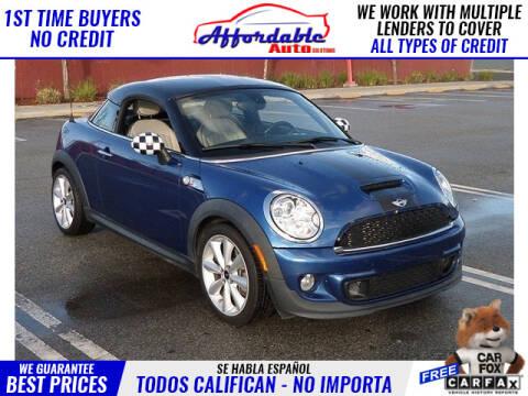 2013 MINI Coupe for sale in Wilmington, CA