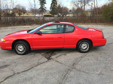 2001 Chevrolet Monte Carlo for sale in Broadview, IL