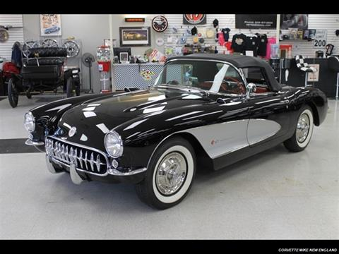 1957 chevy corvette value