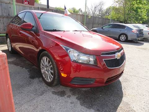 2011 Chevrolet Cruze for sale in Dallas, TX