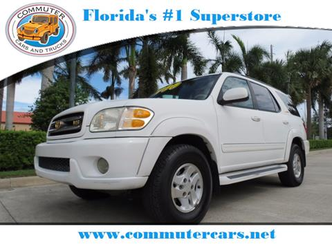 2002 Toyota Sequoia for sale in Port Saint Lucie, FL